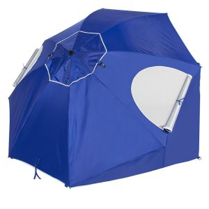 Beach Portable Sun Umbrella Shelter Park Canopy Tent Umbrella with Ground Nails pictures & photos