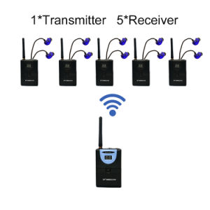 Wirele Music Taudio transceiver 1 Transmitter and 5 Receivers 64k@16bits pictures & photos