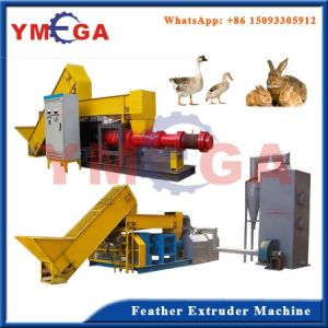 Professional and Complete Chicken Poultry Birds Feather Flour Extruder Machine pictures & photos