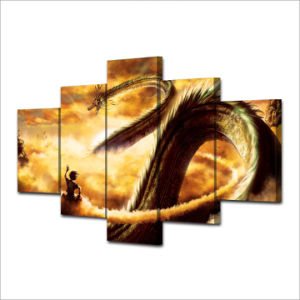 HD Printed Cartoon Dragon Ball Painting Canvas Print Room Decor Print Poster Picture Canvas Mc-032 pictures & photos