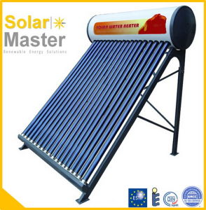 2016 High Efficiency Low Pressure Solar Water Heating System