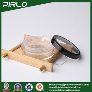 30g 50g Plastic Powder Jar with Sifter Cosmetic Loose Powder Jar pictures & photos