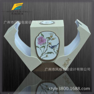Inside Inner Printing UV Varnish Embossing Custom Logo Brand Quality Tuck End Fragrance Board Packaging Paper pictures & photos