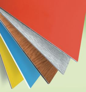 Polyester Aluminum Composite Decoration Material pictures & photos