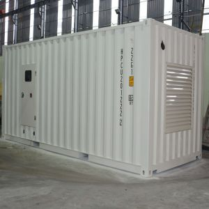 Super Soundproof Canopy Generator Sets Factory with Container Design Genset