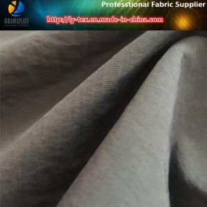 228t Full Dull Nylon Taslon, Nylon Fabric with PU Breathable White Coating for Garment pictures & photos