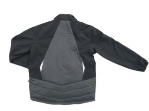 Padding Nylon Softshell Winter Men Coat Windbreaker Jacket pictures & photos