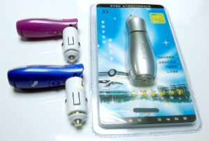 Portable Car Accessory Mini Ionizer Car Air Purifier From China pictures & photos