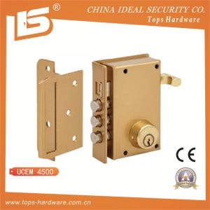 Round Cylinder Rim Lock, Vertical with Pull-Action - Ucem 4500 pictures & photos