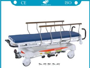 Good Quality Ce&ISO Approved Hospital Hydraulic Stretcher pictures & photos
