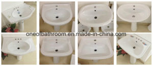 Economic Pedestal Basin Wash Sink for Africa Market pictures & photos
