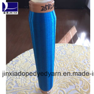 Dope Dyed Ployester Monofilament Drwan Yarn 35D/1f pictures & photos