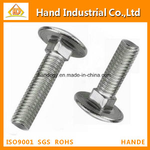 Well-Made DIN603 Round Head Square Carriage Mushroom Head/ Neck Bolt pictures & photos