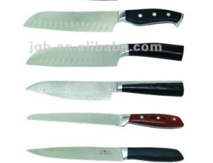 Wholesale Stainless Steel Best Chef Knife with Acrylic Holder pictures & photos