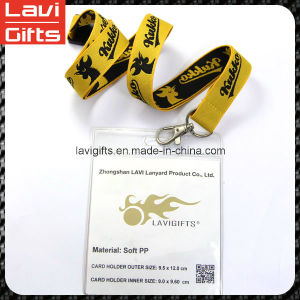 Top Design Nylon Custom ID Card Holder Lanyard pictures & photos
