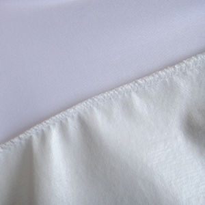 White Plain Terry Cloth TPU Coated Waterproof Mattress Protector pictures & photos