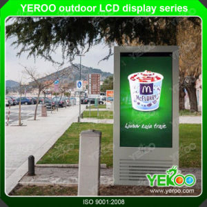 Touch Screen Totem Advertising Kiosk for Outdoor LCD Display pictures & photos