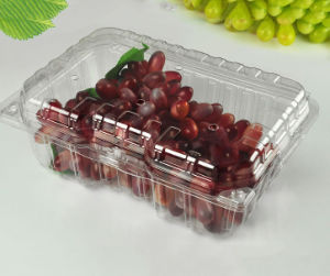 disposable plastic fruit packaging blister (pet blister) pictures & photos