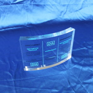 Customize Clear Office Gift Resin Trophy pictures & photos