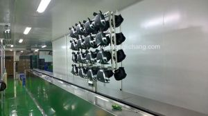 Turnkey Dustfree Spray Painting Line for Car Steering Wheel pictures & photos