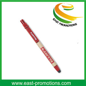 Wooden Clip Eco Friendly Paper Pen, Recycle Ball Pen pictures & photos