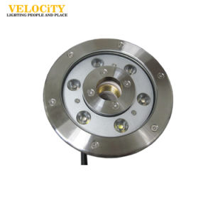Factory 6W/9W RGB IP68 Stainless Steel LED Waterproof Fountain Light