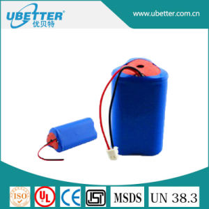 18650 12V 8400mAh Lithium Battery Pack for Solar Light Battery pictures & photos
