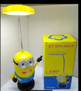 Minions Bluetooth Speaker Portable with Desk Lamp Wireless Mini Speaker pictures & photos