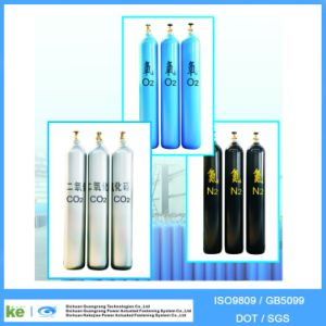 2016 Hot Sale 40L High Pressure Seamless Steel Oxygen Gas Tank Factory ISO9809 pictures & photos