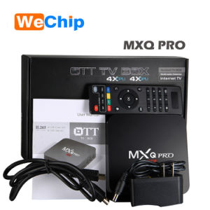 Mxq PRO Android 6.0 Kodi 16.1 RAM 1GB ROM 8GB TV Box pictures & photos