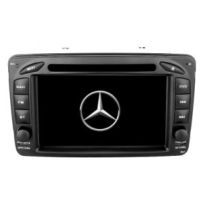 Car Navigation System 5.1 Version with Solar Power Supplying TPMS for Benz W209 pictures & photos
