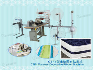 Mattress Decorative Ribbon Sewing Machine (CTF4) pictures & photos