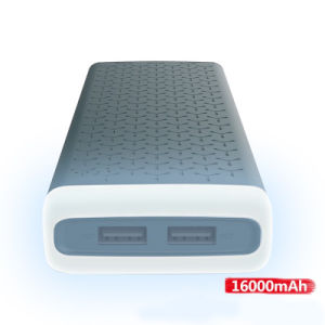Hot selling high quality true big capacity 16000mAh power bank with LED light pictures & photos