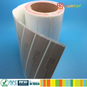EPC pre-serialization Alien 9630 inlay UHF RFID paper label pictures & photos