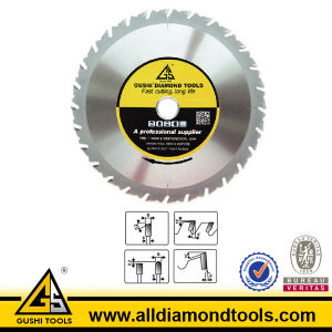 Brazed Tct Ripping Saw Blade for Cross Cutting pictures & photos