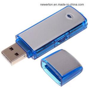 USB 2.0 Blue Color U Disk Flash Drive Digital Audio Voice Recorder Wav Fomat pictures & photos