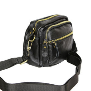 Fashion Mini Unisex Leather Shoulder Satchel Messenger Bag pictures & photos