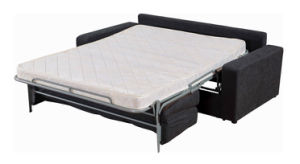 Functional Sofa Cum Bed with Metal Mechanism for Hotel pictures & photos