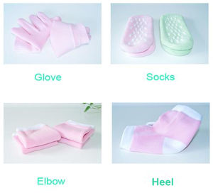 Socks SPA Moisturizing Silicon Foot Gel Socks pictures & photos