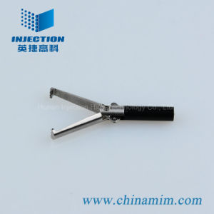 MIM Grasping Forceps (Serrated) for Laparoscopic Instrument pictures & photos