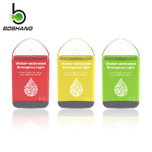 World Debut! ! Bossang Water-Activated Emergency Light Better Than Blackout Buddy H2O Eton LED Light Js-2 pictures & photos