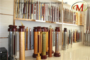 Wood Material Stainless Steel Railing Pillars (GM-101-1 / GM-B070 / GM-B101-2) pictures & photos