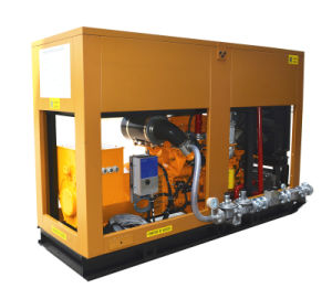 600kw Silent Gas Generator for CHP Power Plant pictures & photos
