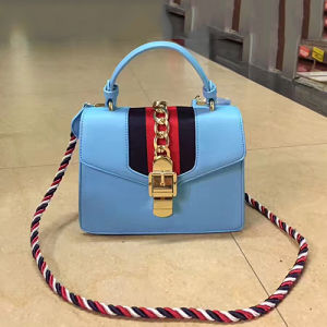 Guangzhou Factory New PU Leather Fashion Designer Women Female Tote Ladies Handbag Sy8352 pictures & photos