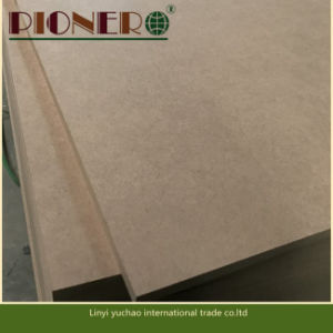 Best Price E1 Glue 12 mm Plain MDF or Raw MDF with Good Quality in China pictures & photos