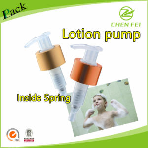 28/410 Closure Metal Ring Lotion Dispenser Pump pictures & photos