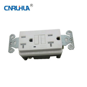Hot Selling White Ground Fault Circuit Interrupt Socket pictures & photos