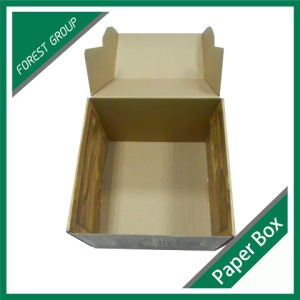 Corrugated Cardboard Paper Packaging Boxes for Computer with Handle pictures & photos