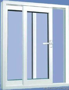 Double Glazed Low E Glass Arc PVC/UPVC Sliding Window