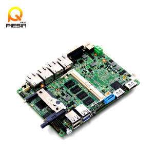 12*12cm 4 LAN Nano Itx Motherboard Baytrail Quad Core J1900 Processor with 1*USB2.0, 1*USB3.0 pictures & photos